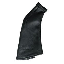 Cuffia in pelle leva freno a mano - Nero