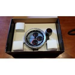 Manometro Turbo Jom - 52 mm Nero Smoke