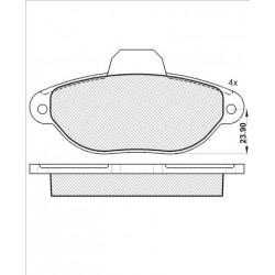 Pastiglie Freno ICER 181992 bmw serie 5/7 X6