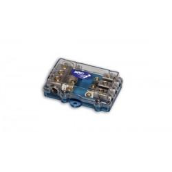 DP1073  Distributore di Corrente con fusibili 3 VIE impact car audio