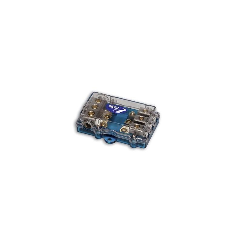 DP1022  Distributore di Corrente 1in 4 out impact car audio