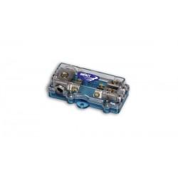 DP1072  Distributore di Corrente con fusibili 2 VIE impact car audio
