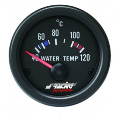 Manometro Temperatura Acqua Simoni Racing - 52 mm Nero
