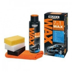 Quixx-Wax 7 in 1 kit per lucidare fari e carrozzeria