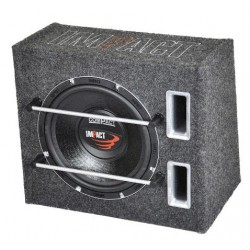 Subwoofer Impact passivo da 250 mm in box reflex