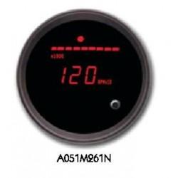 Manometro Temperatura acqua Digitale Nero Rosso Global
