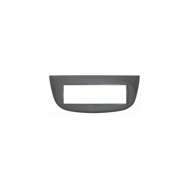 Mascherina con foro ISO colore grigio Renault Twingo dal 2007