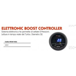 eletronic boost controller 52mm doppio settaggio