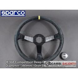 volante sparco r368 scamosciato fuoristrada 380mm