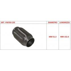 Flessibile universale per auto diametro 51.5mm L 15 cm