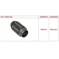 Flessibile universale per auto diametro 54mm L 15 cm