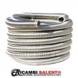 Tubo marmitta flessibile inox rinforzato diametro 30mm trecciato