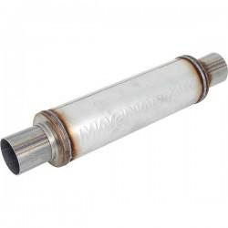 scarico sportivo universale magnaflow 10416 61mm centrale acciaio