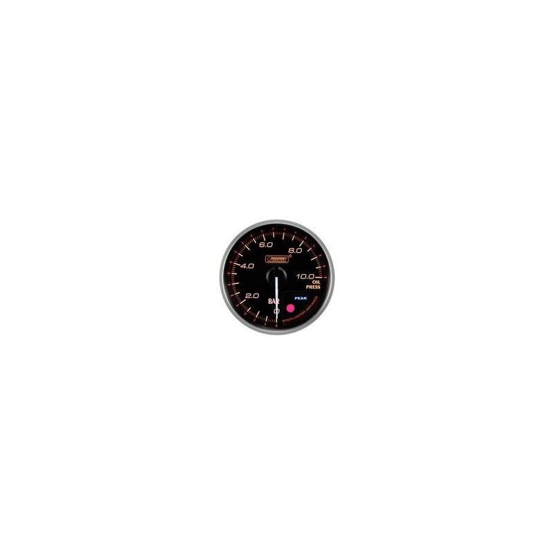 manometro pressione olio diam 52mm prosport serie supreme