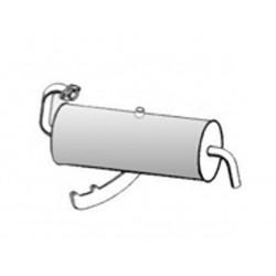 Silenziatore Posteriore SMART 0.6  0.7 CABRIO COUPE' FORTWO euro 2 3 4