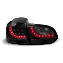 Fari posteriori Golf VI 6 led urban style 08 - 12 dark red