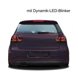 Fari posteriori Golf V 5 dark led light freccia ad accensione dinamica