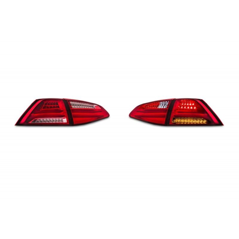 Fari posteriori led Golf VII 7 led lightbar style cpu compatibile