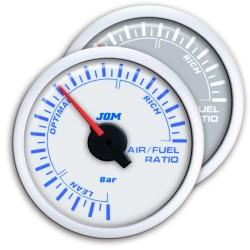 manometro di misurazione per rapporto stechiometrico aria carburante 52mm WHITE