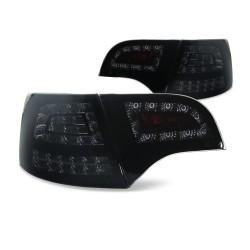 Fanali posteriori a LED di new design neri per Audi A4 Avant B7 Bj 04-08