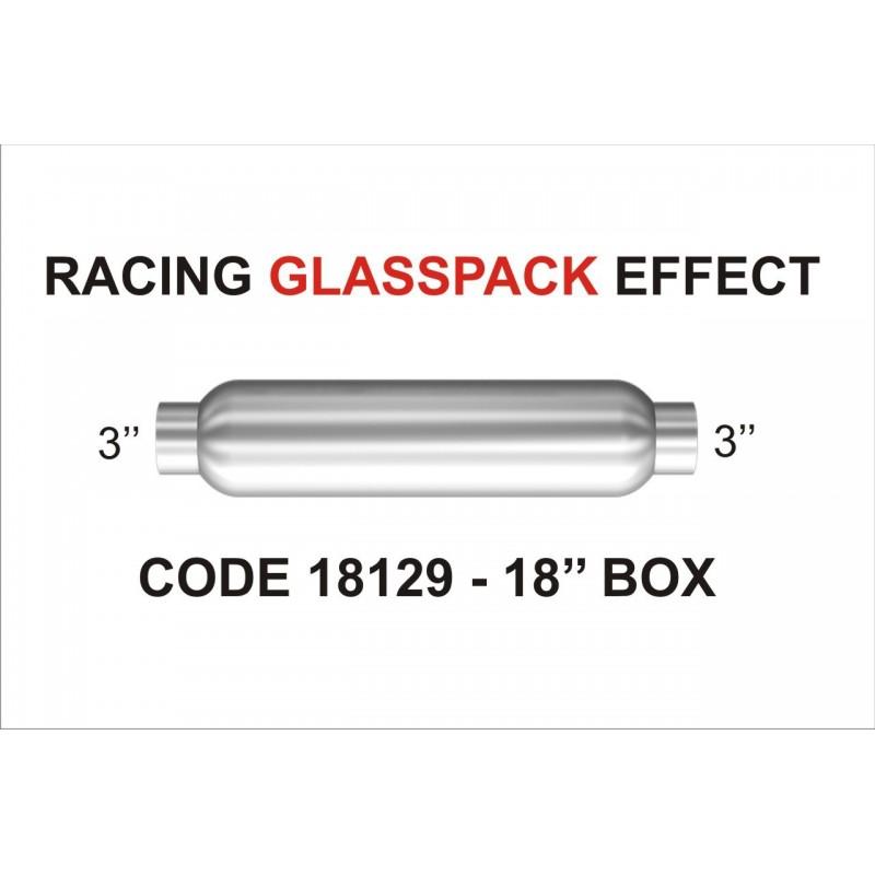 Scarico universale glassspack 18115 magnaflow acciaio 57mm