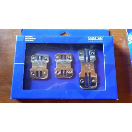 Pedaliera Sparco modello Linea 77 Cromata