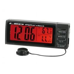 Termometro digitale Rosso/Blu LED lampa