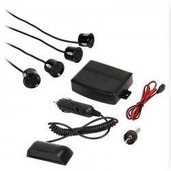 Kit 4 sensori parcheggio con display wireless, 12V